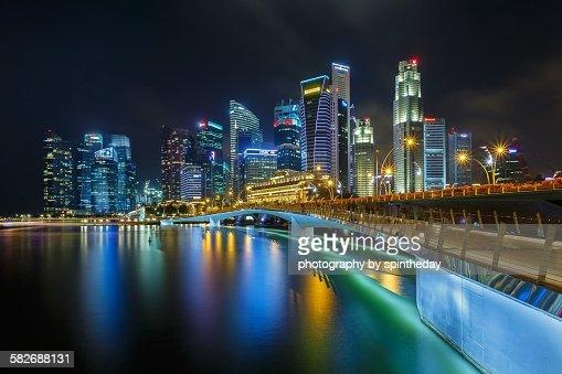 Jubilee Bridge Singapore