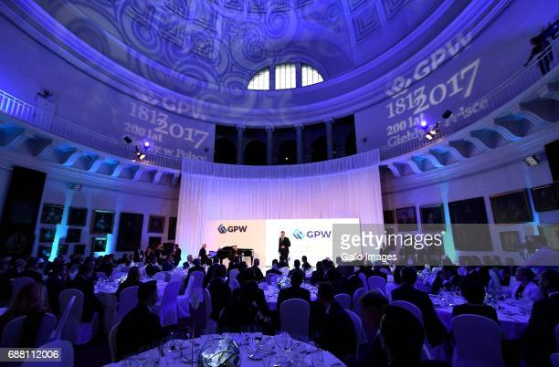 Jubilee Gala of the 200th anniversary of the Warsaw Stock Exchange on May 24 2017 in Warsaw Poland During the gala the President of Poland Andrzej...