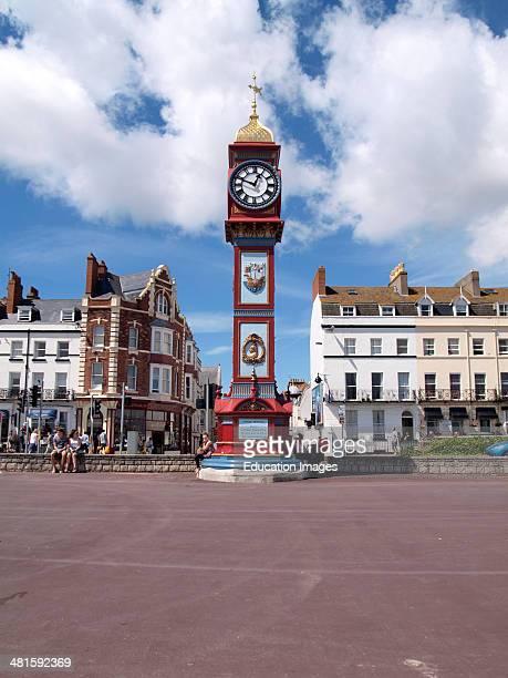 Jubilee Memorial Clock Weymouth Dorset UK