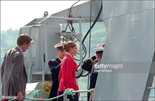Jubilee of King Harald and Queen Sonja of Norway In Trondheim Norway On June 21 1997