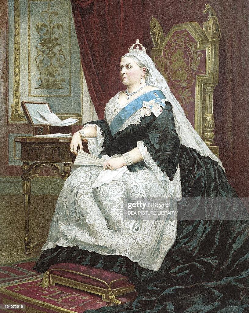Jubilee of Queen Victoria in 1887 Queen of the United Kingdom
