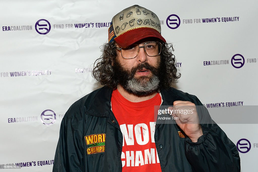 Judah Friedlander attends 'A Night of Comedy with Jane Fonda Fund for Women's Equality the ERA Coalition' on February 7 2016 in New York City