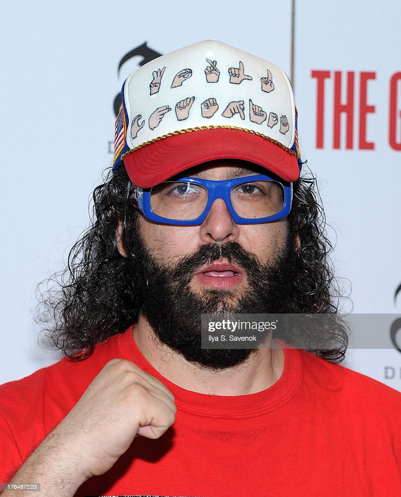 <a gi-track='captionPersonalityLinkClicked' href=/galleries/search?phrase=Judah+Friedlander&family=editorial&specificpeople=666026 ng-click='$event.stopPropagation()'>Judah Friedlander</a> attends 'The Grandmaster' New York Screening at Regal E-Walk Stadium 13 on August 13, 2013 in New York City.