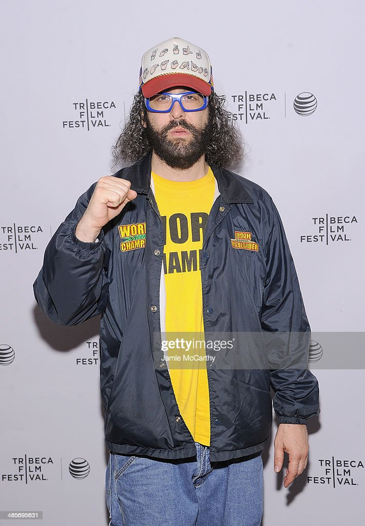 <a gi-track='captionPersonalityLinkClicked' href=/galleries/search?phrase=Judah+Friedlander&family=editorial&specificpeople=666026 ng-click='$event.stopPropagation()'>Judah Friedlander</a> attends the premiere of 'Zombeavers' during the 2014 Tribeca Film Festival at Chelsea Bow Tie Cinemas on April 19, 2014 in New York City.