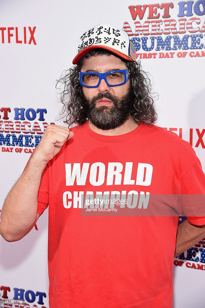 Judah Friedlander attends the 'Wet Hot American Summer First Day of Camp' Series Premiere at SVA Theater on July 22 2015 in New York City