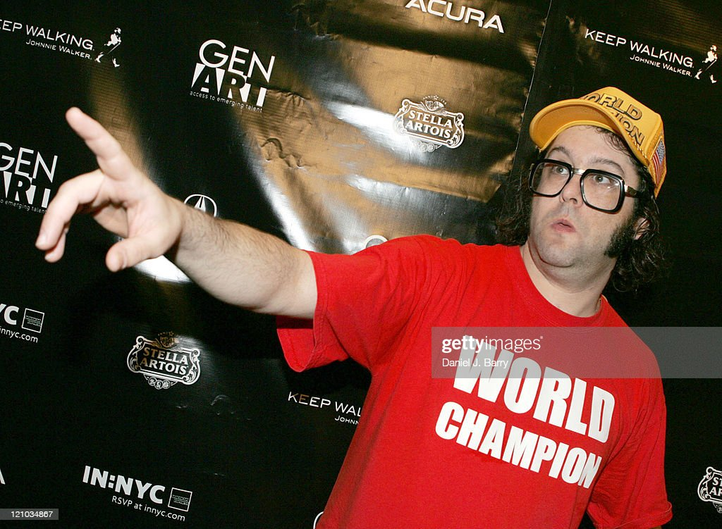 Judah Friedlander during 11th Annual Gen Art Film Festival 'The Shirt' and 'Live Free or Die' at Clearview Chelsea West in New York New York United...