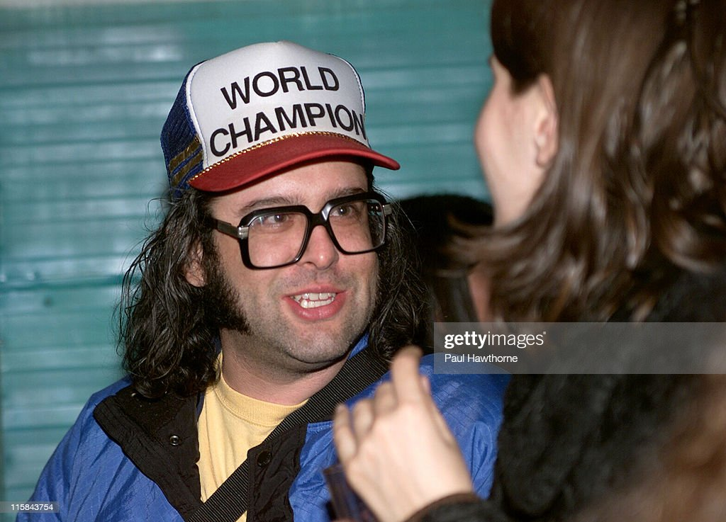 Judah Friedlander during 'American Splendor' and 'Revenge of the Nerds' Viewing and After Party New York at Trailer Park in New York City New York...