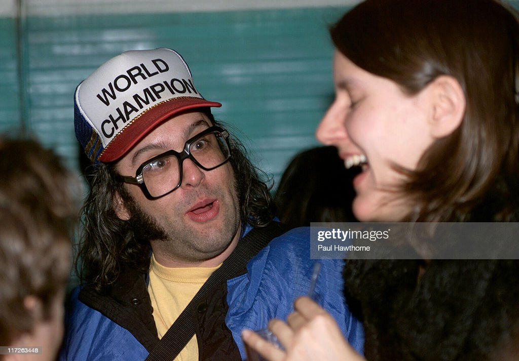 Judah Friedlander during American Splendor and Revenge of the Nerds Viewing and After Party New York at Trailer Park in New York City New York United...