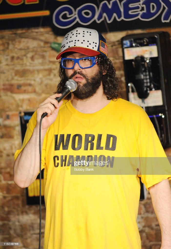Judah Friedlander performs at The Stress Factory Comedy Club on June 4 2011 in New Brunswick New Jersey