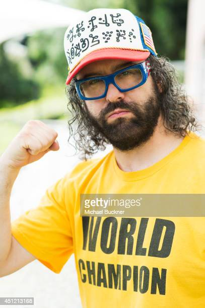 Judah Friedlander poses for a portrait at the NBC Universal's Summer Press Day on April 8 2014 in Pasadena California