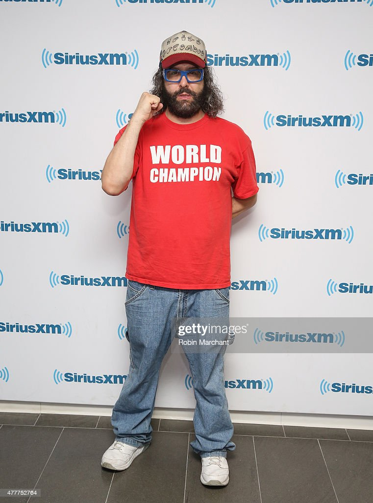 Judah Friedlander visits at SiriusXM Studios on June 19, 2015 in New York City.