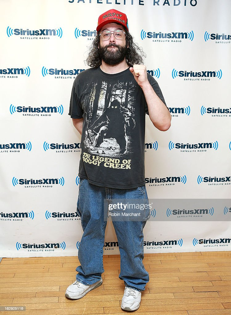 Judah Friedlander visits at SiriusXM Studios on March 1, 2013 in New York City.