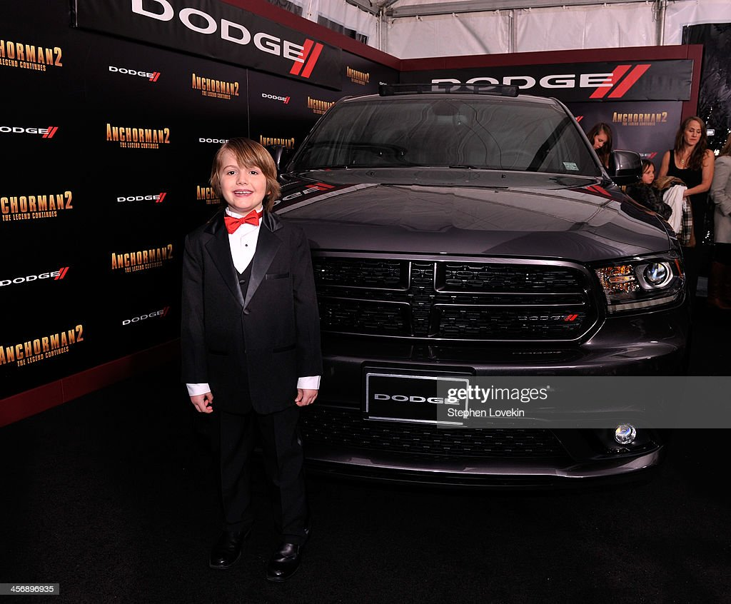 Judah Nelson attends 'Anchorman 2' Premiere NYC Sponsored By Dodge at Beacon Theatre on December 15, 2013 in New York City.