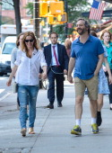 Judd Apatow and Leslie Mann are seen on June 21 2013 in New York California