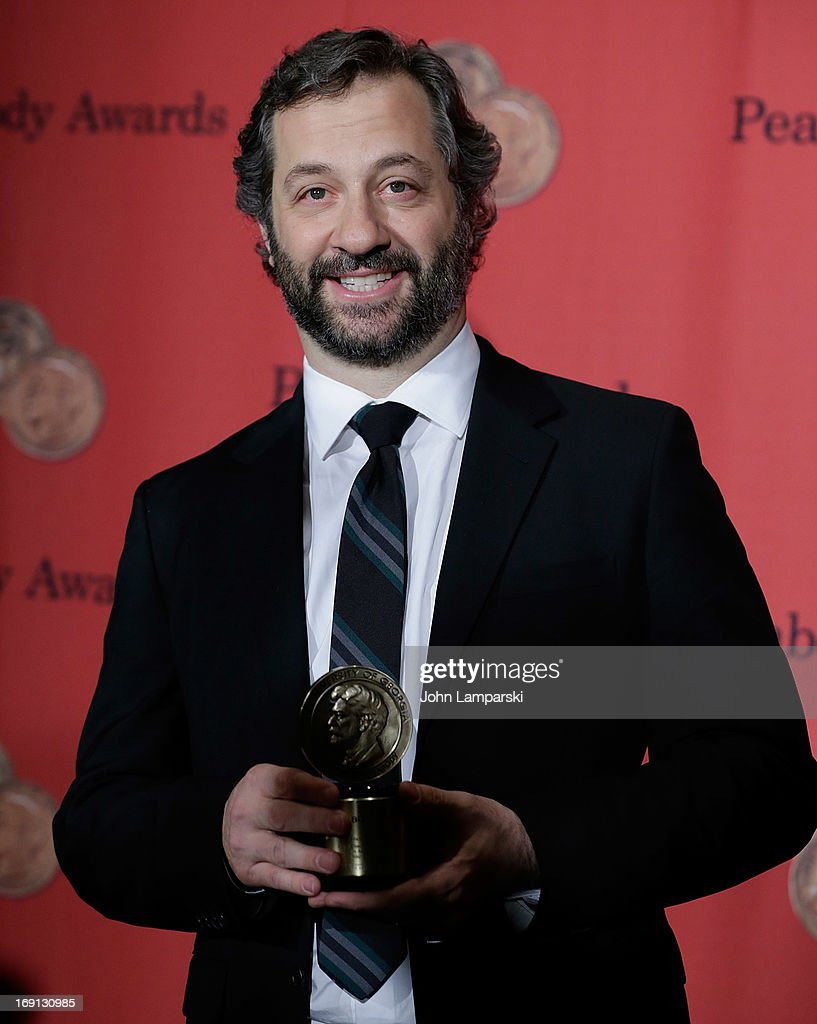 <a gi-track='captionPersonalityLinkClicked' href=/galleries/search?phrase=Judd+Apatow&family=editorial&specificpeople=854225 ng-click='$event.stopPropagation()'>Judd Apatow</a> attends 72nd Annual George Foster Peabody Awards at The Waldorf=Astoria on May 20, 2013 in New York City.