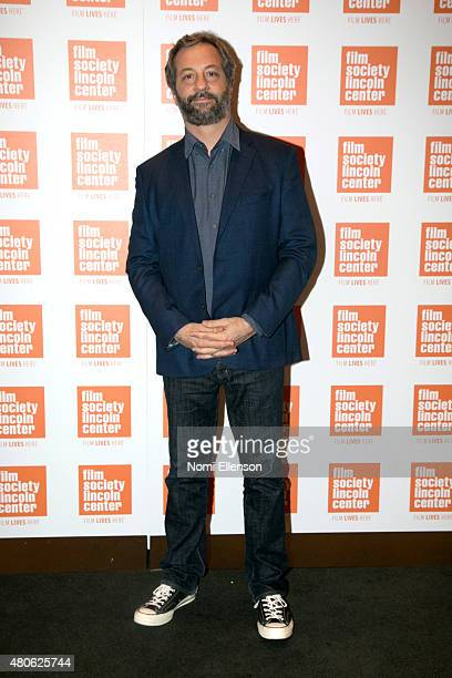 Judd Apatow attends the 2015 Film Society of Lincoln Center Summer Talks with Judd Apatow and Lena Dunham at Elinor Bunin Munroe Film Center on July...