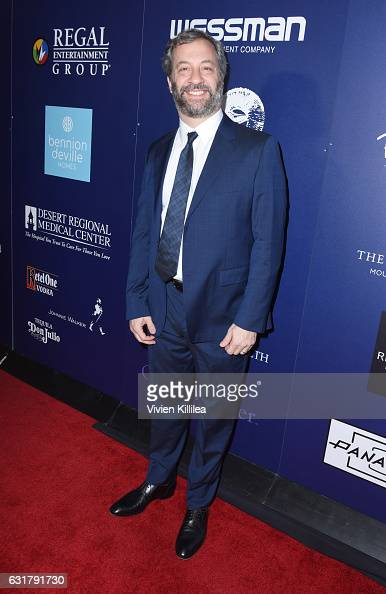 Judd Apatow attends the Closing Night Screening of 'The Comedian' at the 28th Annual Palm Springs International Film Festival on January 15 2017 in...