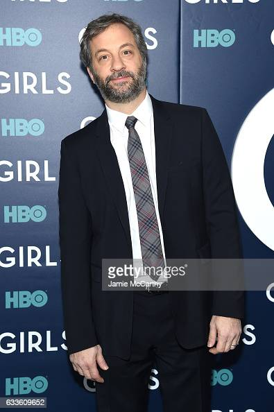 Judd Apatow attends The New York Premiere Of The Sixth Final Season Of 'Girls' at Alice Tully Hall Lincoln Center on February 2 2017 in New York City