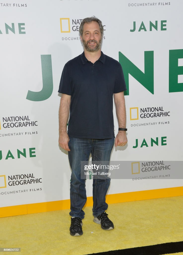 Judd Apatow attends the premiere of National Geographic Documentary Films' 'Jane' at the Hollywood Bowl on October 9, 2017 in Hollywood, California.