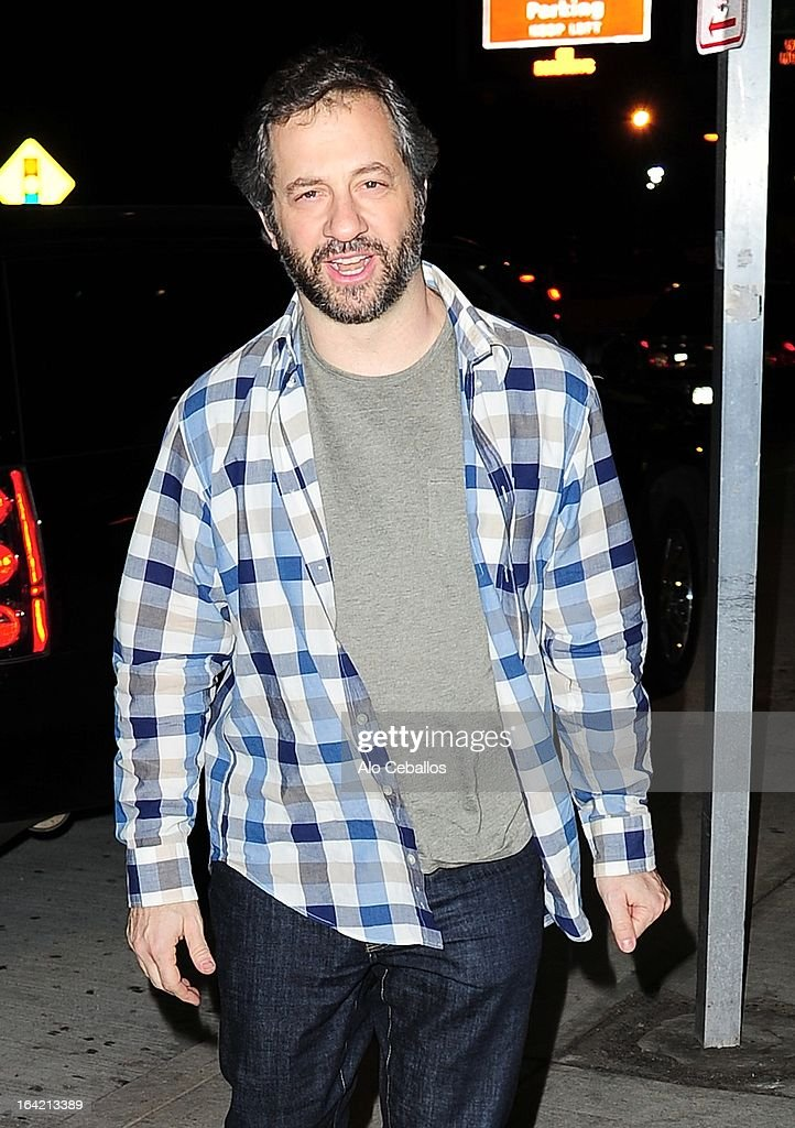 <a gi-track='captionPersonalityLinkClicked' href=/galleries/search?phrase=Judd+Apatow&family=editorial&specificpeople=854225 ng-click='$event.stopPropagation()'>Judd Apatow</a> is seen at JFK Airport on March 20, 2013 in New York City.