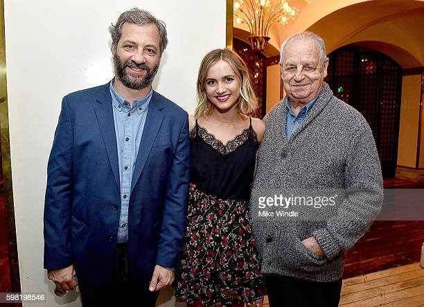 Judd Apatow Maude Apatow and Paul Dooley attend the after party for the premiere of Vertical Entertainment's 'Other People' on August 31 2016 in West...