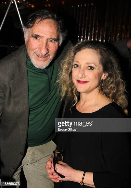 Judd Hirsch and Carol Kane attend the after party for 'The Lying Lesson' opening night at Moran's Restaurant on March 13 2013 in New York City