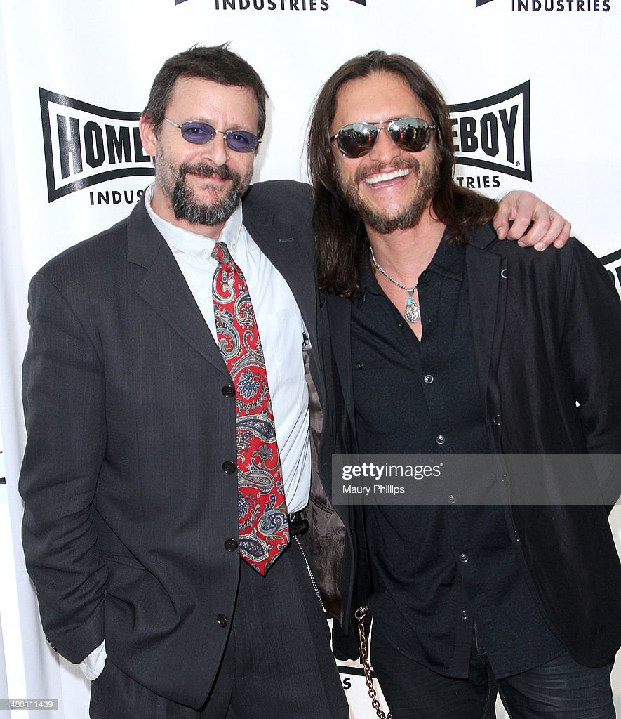 <a gi-track='captionPersonalityLinkClicked' href=/galleries/search?phrase=Judd+Nelson&family=editorial&specificpeople=1541923 ng-click='$event.stopPropagation()'>Judd Nelson</a> and <a gi-track='captionPersonalityLinkClicked' href=/galleries/search?phrase=Clifton+Collins+Jr.&family=editorial&specificpeople=540063 ng-click='$event.stopPropagation()'>Clifton Collins Jr.</a> attend The 2014 Lo Maximo Awards Dinner at JW Marriott Los Angeles at L.A. LIVE on May 3, 2014 in Los Angeles, California.