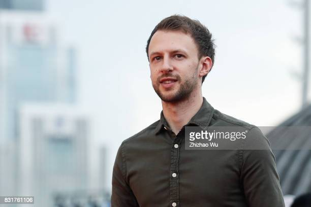 Judd Trump attended Red Carpet of Evergrande 2017 World Snooker China Championship on August 15 2017 in Guangzhou China