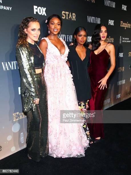 Jude Demorest Ryan Destiny Amiyah Scott and Brittany O'Grady attend 'Empire' 'Star' Celebrate FOX's New Wednesday Night Red Carpet at One World...