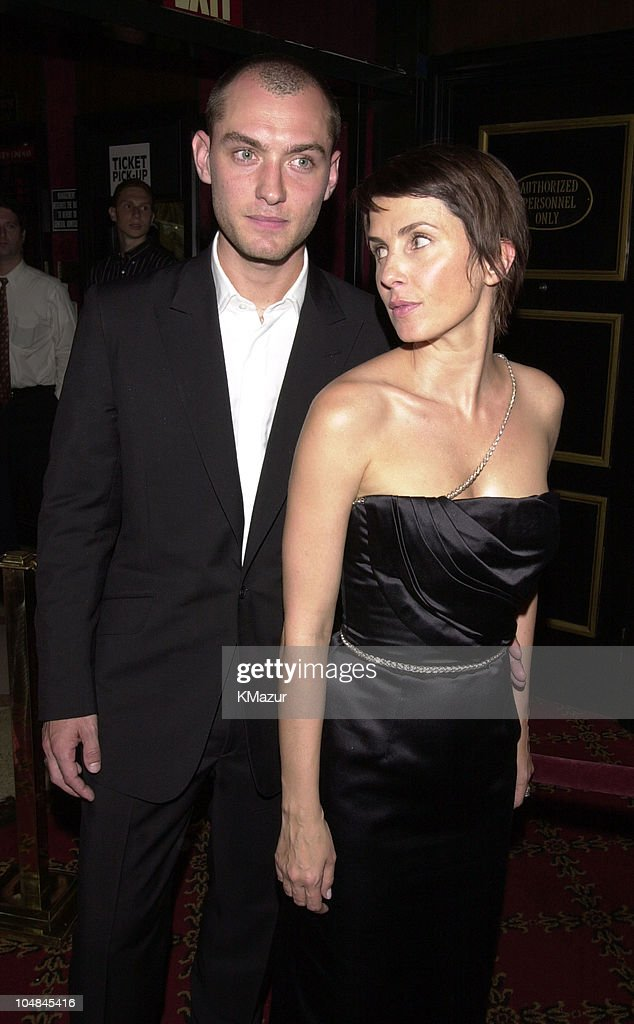 Jude Law and Sadie Frost during 'Artificial Intelligence AI' World Premiere at Ziegfeld Theatre in New York City New York United States