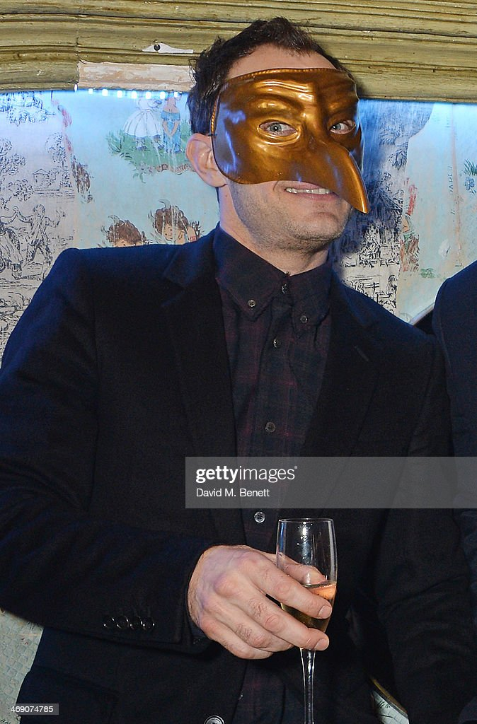 <a gi-track='captionPersonalityLinkClicked' href=/galleries/search?phrase=Jude+Law&family=editorial&specificpeople=156401 ng-click='$event.stopPropagation()'>Jude Law</a> attends The Box 3rd Birthday Party sponsored by Belvedere Vodka at The Box Soho on February 12, 2014 in London, England.