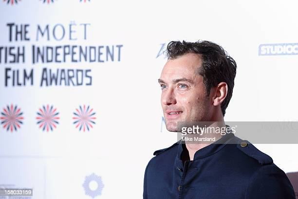 Jude Law attends the British Independent Film Awards at Old Billingsgate Market on December 9 2012 in London England