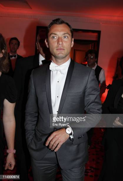 Jude Law attends the Diamonds Are Girls Best Friend event during the 64th Annual Cannes Film Festival held at Hotel Martinez on May 16 2011 in Cannes...