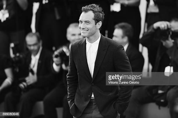 Jude Law attends the premiere of 'The Young Pope' during the 73rd Venice Film Festival at on September 3 2016 in Venice Italy