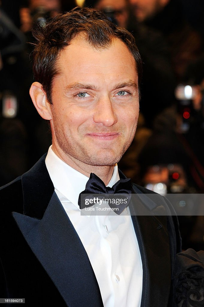 Jude Law attends the 'Side Effects' Premiere during the 63rd Berlinale International Film Festival at Berlinale Palast on February 12 2013 in Berlin...