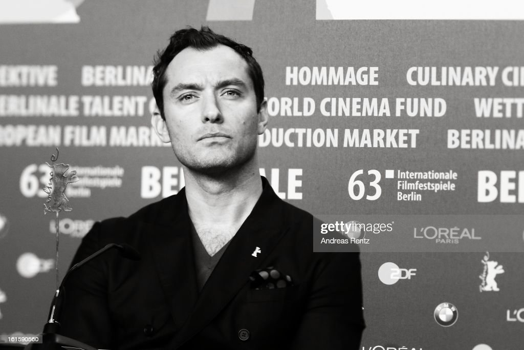 Jude Law attends the 'Side Effects' press conference during the 63rd Berlinale International Film Festival at the Grand Hyatt Hotel on February 12, 2013 in Berlin, Germany.