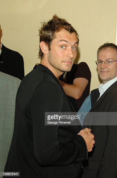 Jude Law during 2007 Cannes Film Festival Sightings Day 1 at Palais Des Festivals in Cannes France