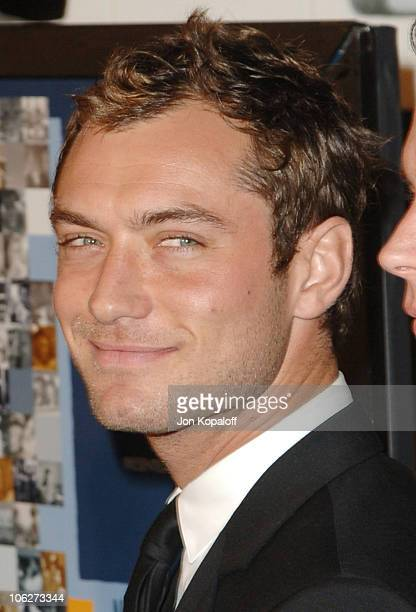 Jude Law during AFI FEST 2005 Presented by Audi Closing Night Gala of 'Casanova' Arrivals at ArcLight Hollywood Cinerama Dome in Hollywood California...