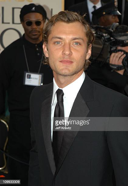 Jude Law during The 60th Annual Golden Globe Awards Arrivals at Beverly Hilton Hotel in Beverly Hills CA United States