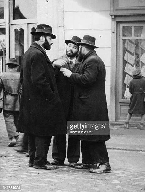 Juden im Ghetto Dezember 1939
