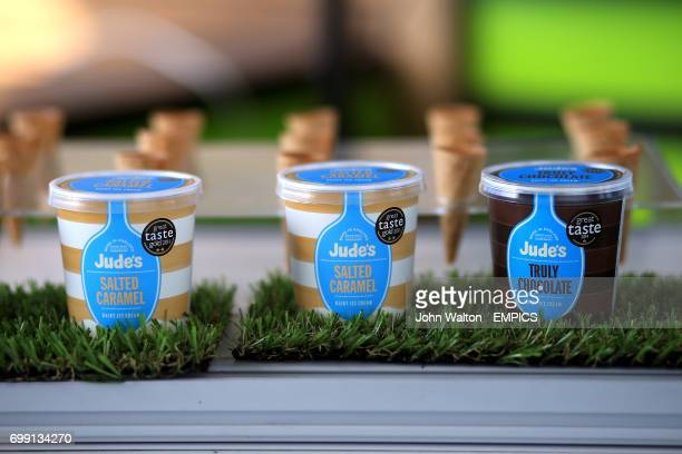 Jude's Dairy Ice Cream on sale at the Kia Oval