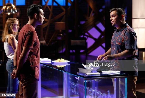 Judge Aaron Sanchez with contestants in the Season Eight premiere of MASTERCHEF airing Wednesday May 31 on FOX