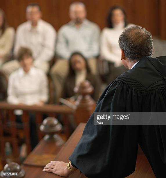 Judge Addressing Jury