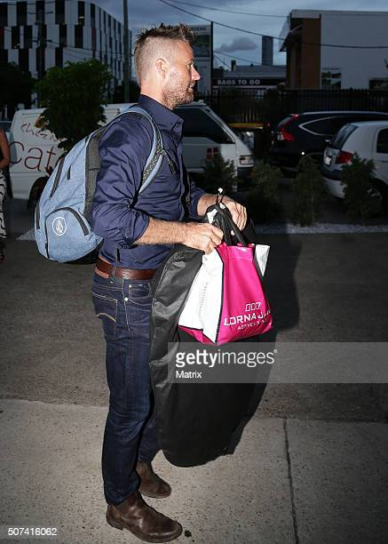 MKR Judge and Paleo advocate Pete Evans at the MKR launch party on January 27 2016 in Brisbane Australia