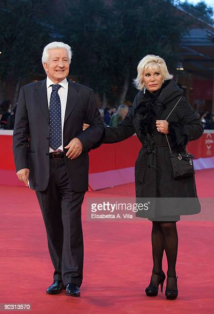 Judge Antonio Marini and wife Elisabetta attend the Official Awards Ceremony during Day 9 of the 4th International Rome Film Festival held at the...