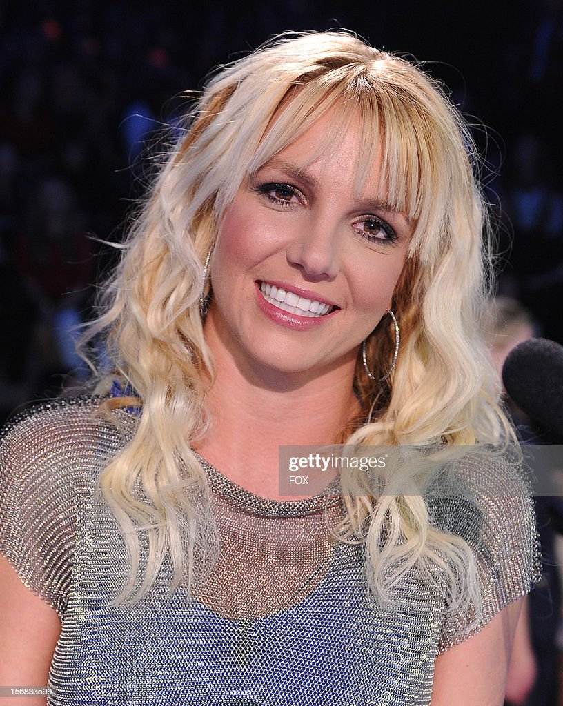 Judge Britney Spears at FOX's 'The X Factor' Season 2 Top 10 Live Performance Show on November 21, 2012 in Hollywood, California.