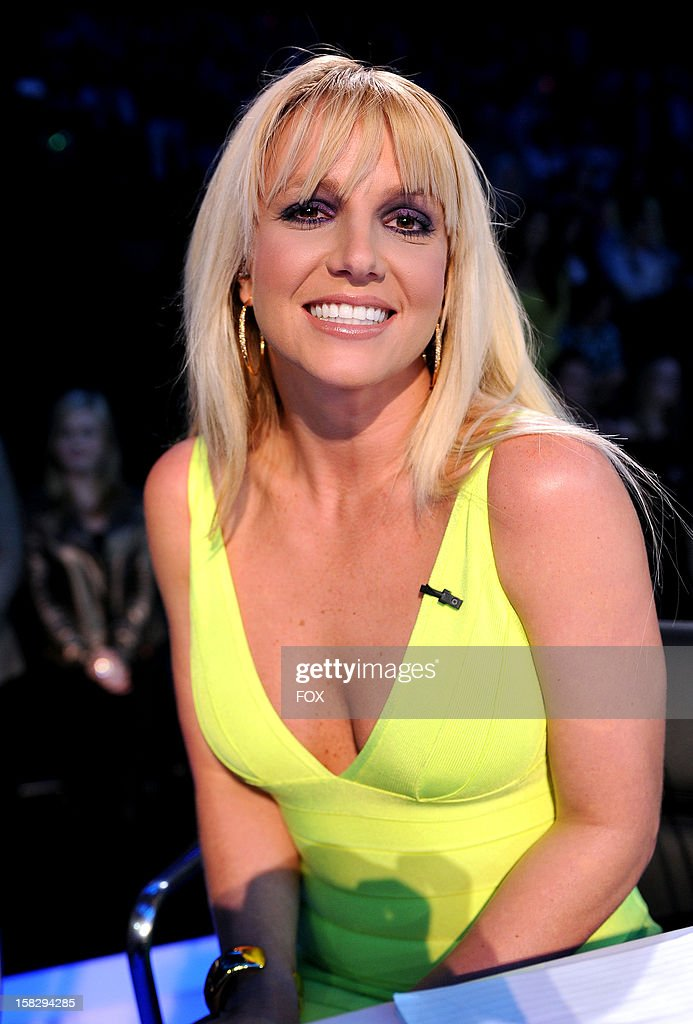 Judge <a gi-track='captionPersonalityLinkClicked' href=/galleries/search?phrase=Britney+Spears&family=editorial&specificpeople=156415 ng-click='$event.stopPropagation()'>Britney Spears</a> at FOX's 'The X Factor' Season 2 Top 4 Live Performance Show on December 12, 2012 in Hollywood, California.