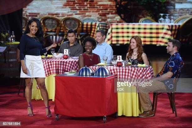 Judge Christina Milian in the allnew ShellShocked Scrambled episode of MASTERCHEF airing Wednesday June 28 on FOX