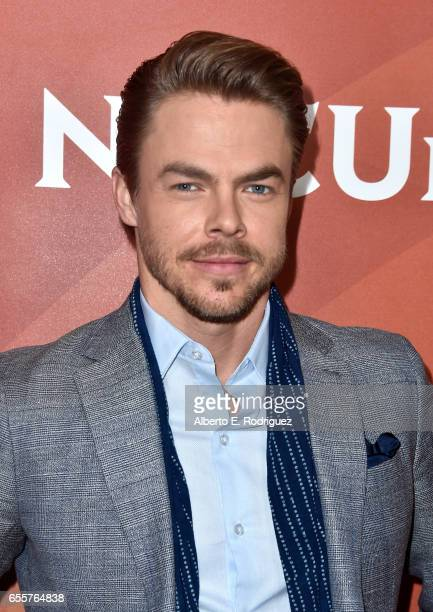 Judge Derek Hough of 'World Of Dance' attends the 2017 NBCUniversal Summer Press Day at The Beverly Hilton Hotel on March 20 2017 in Beverly Hills...