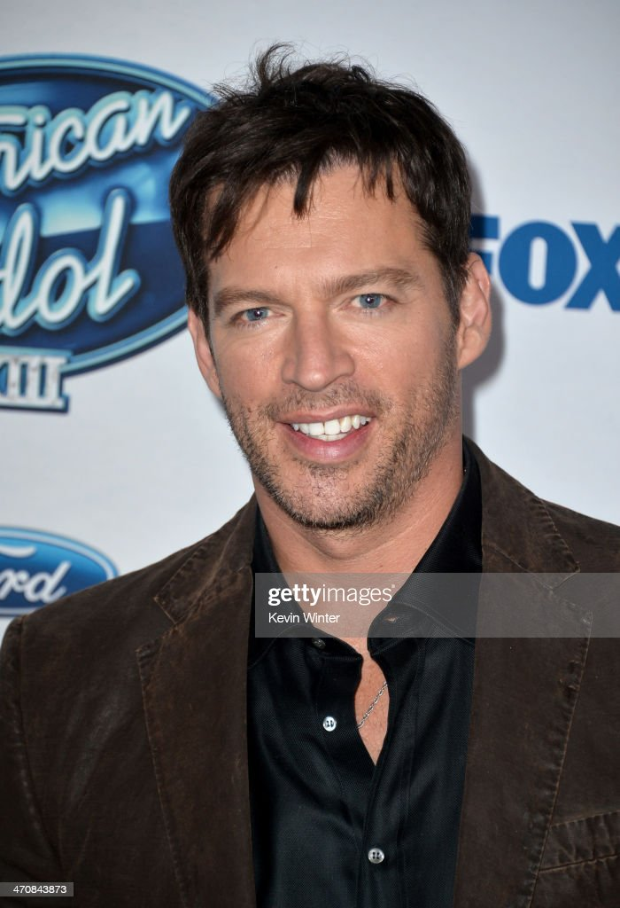 Judge Harry Connick, Jr. attends FOX's 'American Idol XIII' finalists party at Fig & Olive Melrose Place on February 20, 2014 in West Hollywood, California.